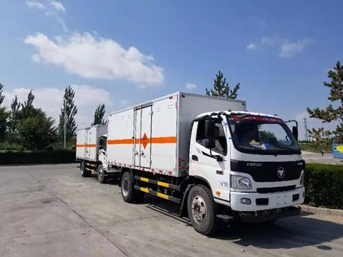 福田7吨欧马可爆破器材yabo2019vip交付新疆客户
