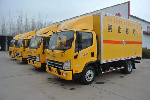 易燃气体运输车