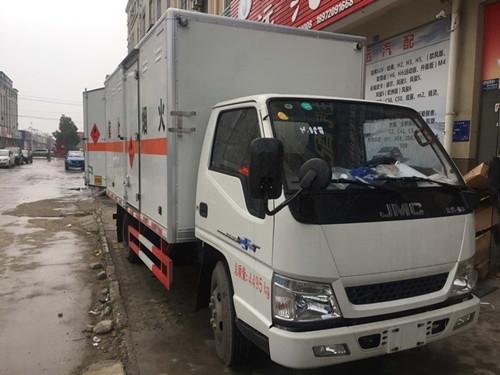 2类易燃气体危险品运输车