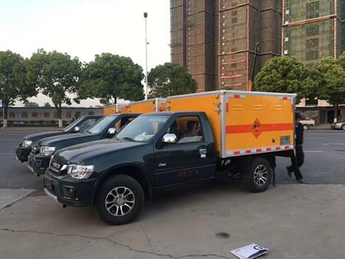 皮卡爆破器材运输车