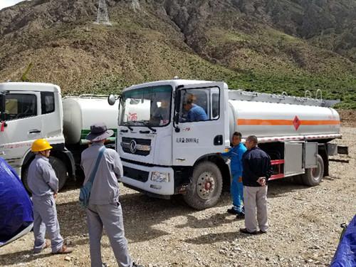 10吨油罐车
