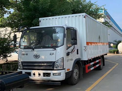危险货物运输车